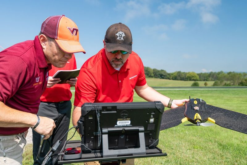 State Farm and Virginia Tech test drones